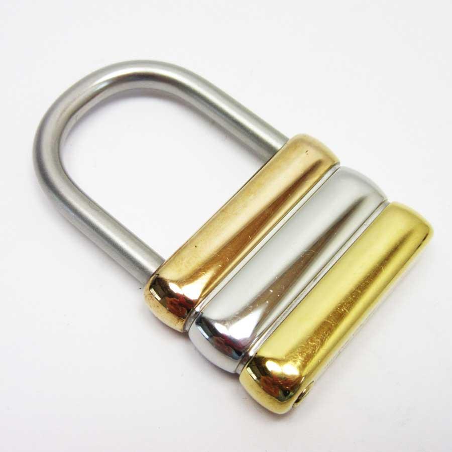 カルティエ Cartier キーリング シルバーxゴールド 金属素材 レディース 【中古】【定番人気】 - t14408