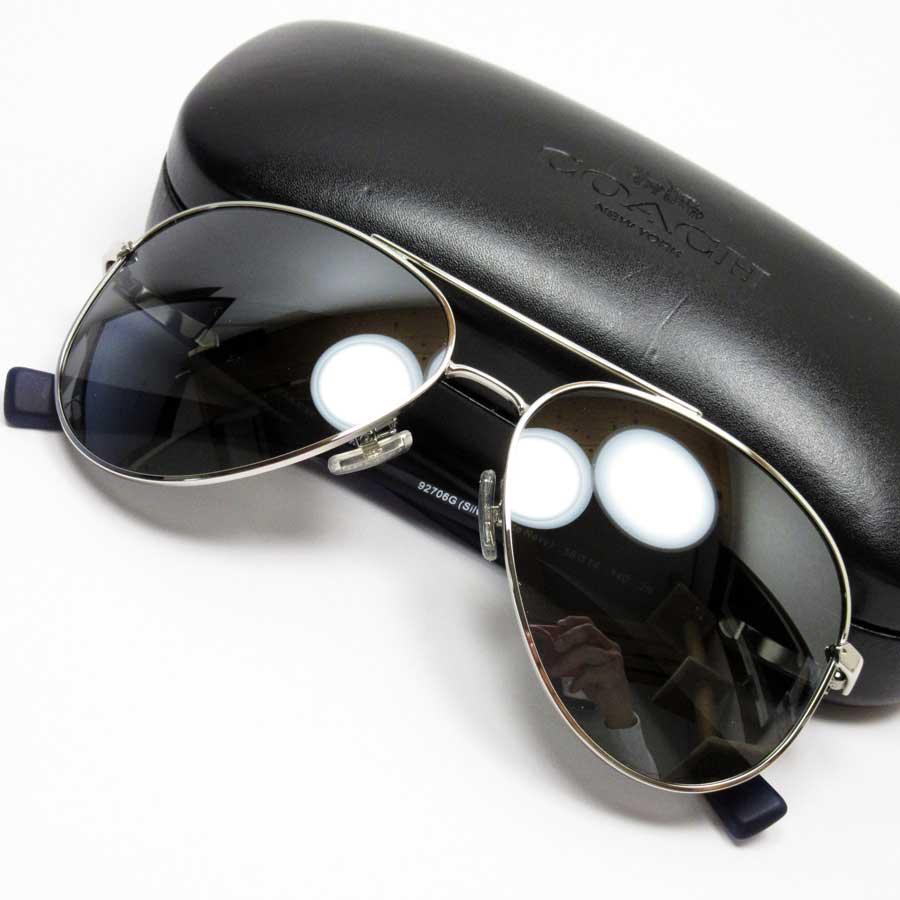 b2adcc68aecd BrandValue: Coach COACH sunglasses 58 □ 14 140 teardrop mirror lens: A  black frame: A silver temple: Silver x black SSx plastic Lady's - h20829 |  Rakuten ...
