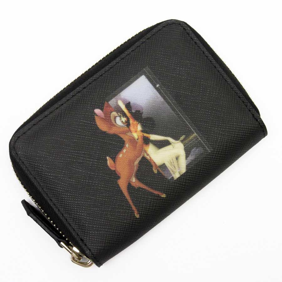 6d610fd3ed BrandValue: ジバンシィ GIVENCHY coin case card case Bambi black leather Lady's -  h20868 | Rakuten Global Market