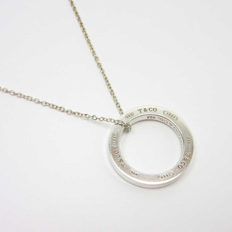 01a1ac5e9 [basic popularity] [used] Tiffany [Tiffany&Co.] necklace Lady's silver SV925