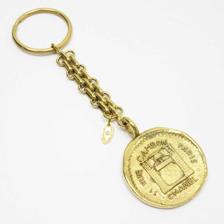 シャネル CHANEL キーホルダー チャーム 31 RUE CAMBON ゴールド 金属素材 レディース 【中古】【定番人気】 - h21323