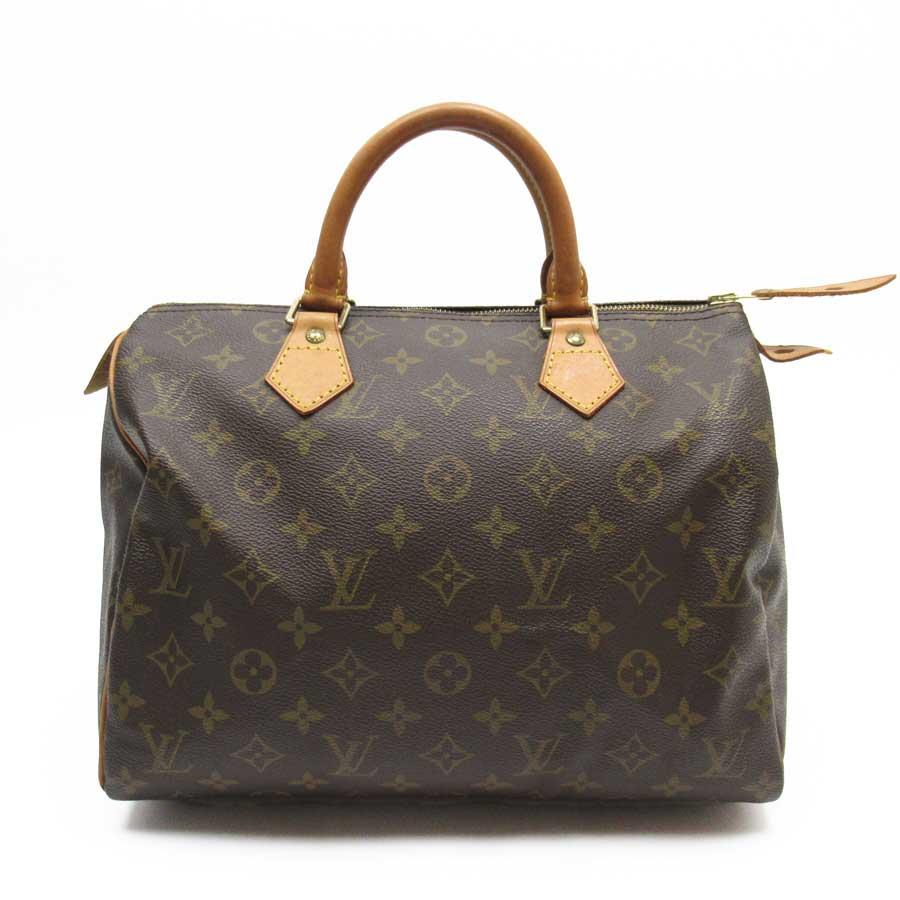 ルイヴィトン Louis Vuitton ハンドバッグ モノグラム スピーディ30 モノグラムキャンバス レディース M41526 【中古】【定番人気】 - n9196