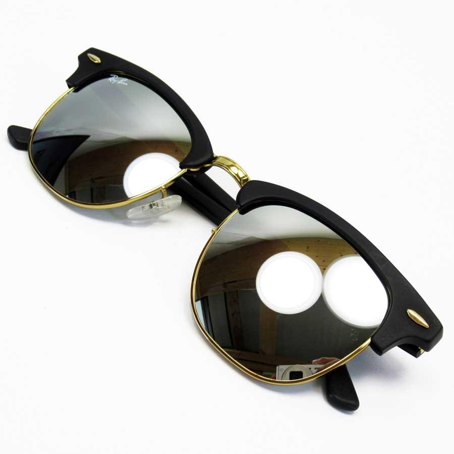 ray ban aviator black lens silver frame