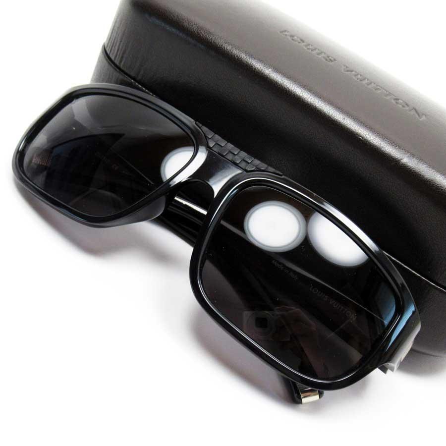 ルイヴィトン Louis Vuitton サングラス(57□17) ダミエ レンズ:ブラック フレーム:ブラックxシルバー プラスチック レディース メンズ 【中古】【定番人気】 - 50954