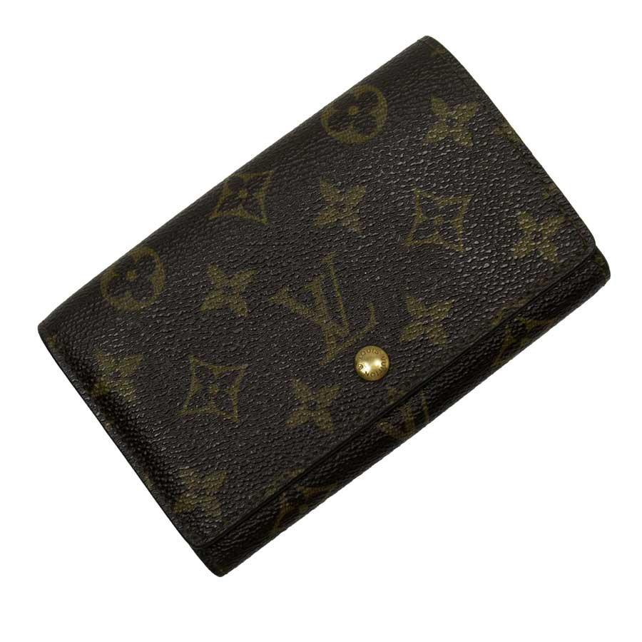 ルイヴィトン Louis Vuitton 二つ折り財布 モノグラム ポルトモネ ビエトレゾール モノグラムキャンバス レディース メンズ M61730 【中古】【定番人気】 - 51332