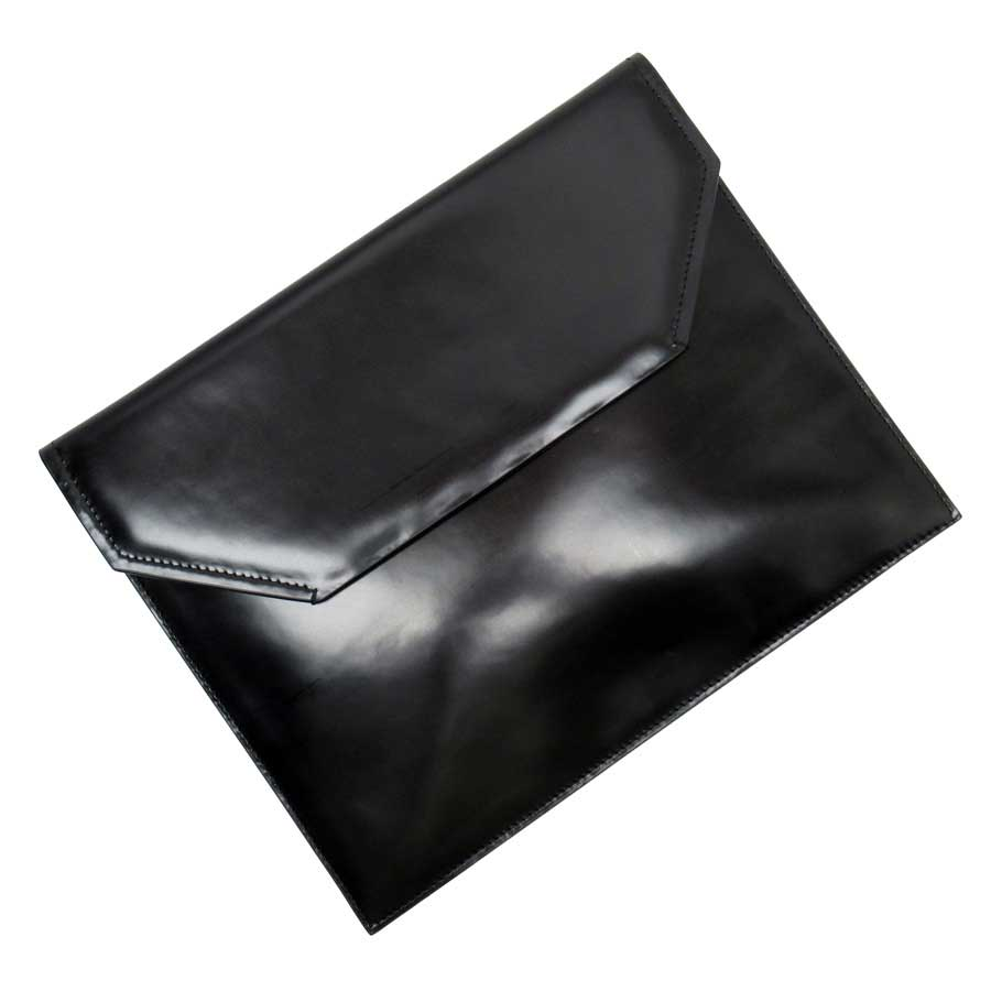 バリー BALLY クラッチバッグ ブラックxゴールド PVC レディース 【中古】【定番人気】 - h23519a