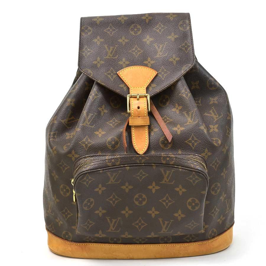 37f9d942 BrandValue: Louis Vuitton Louis Vuitton rucksack backpack monogram mon  pickpocket GM ◇ monogram (brown system) monogram canvas ◇ constant seller  ...
