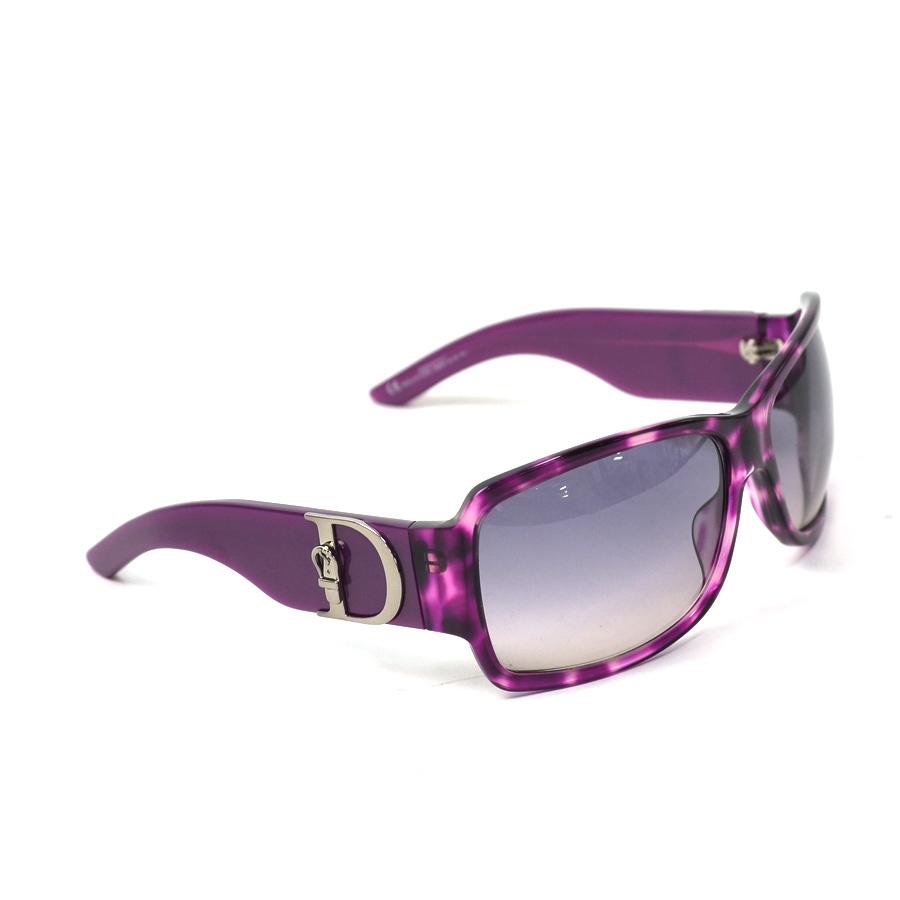 adccfec0d7 BrandValue  Christian Dior Christian Dior sunglasses 64 □ 16 115 ◇ purple x  black system plastic ◇ constant seller popularity ◇ Lady s - x1652