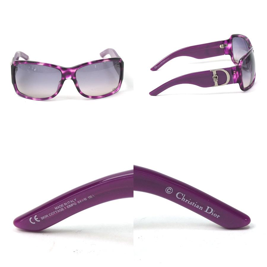 42b48650bf Christian Dior Christian Dior sunglasses 64 □ 16 115 ◇ purple x black  system plastic ◇ constant seller popularity ◇ Lady s - x1652