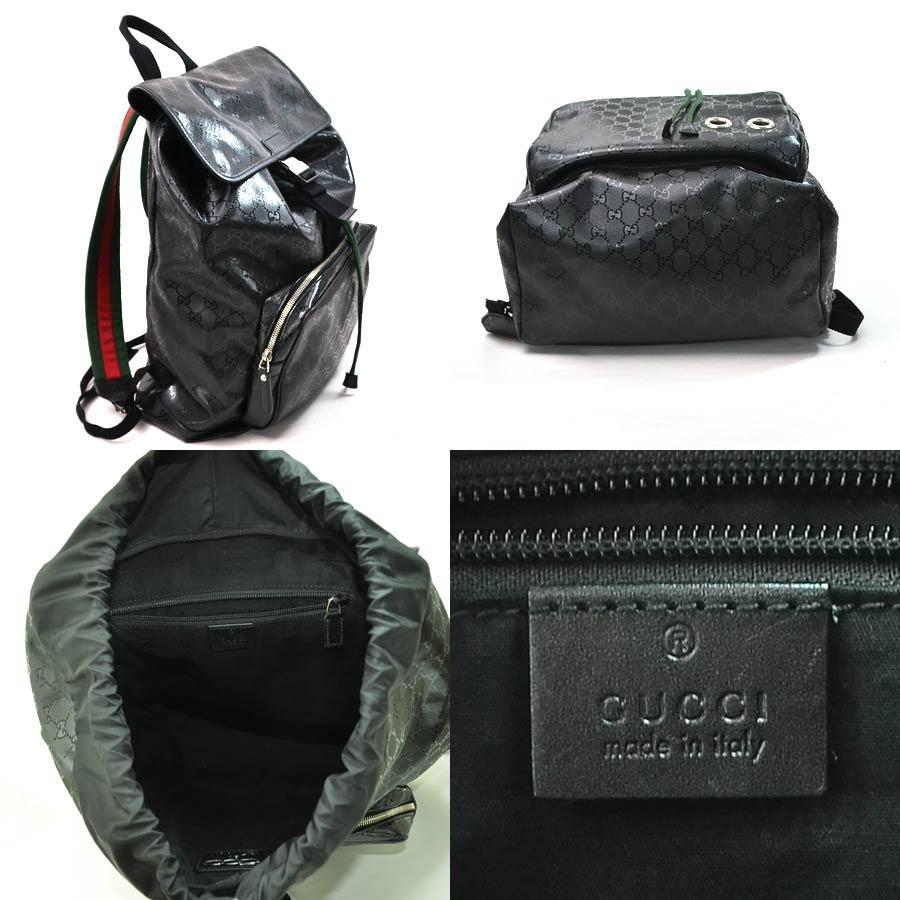 BrandValue: Gucci GUCCI rucksack backpack sherry line GG