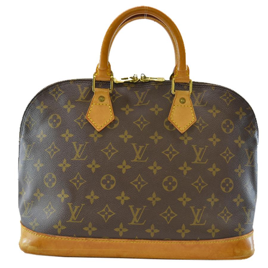ルイヴィトン Louis Vuitton ハンドバッグ モノグラム アルマ ブラウン キャンバス M51130 【中古】【定番人気】 - k6846