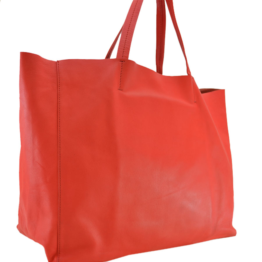667afee4b2  basic popularity   used  Celine  CELINE  shoulder bag tote bag Lady s red  leather