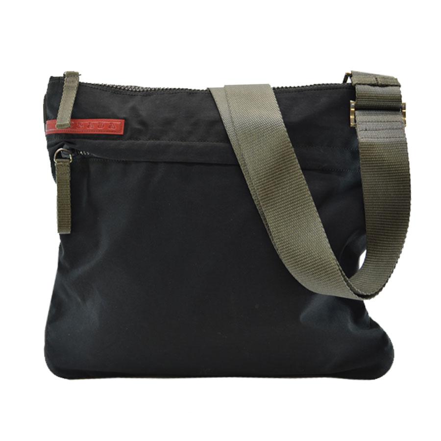 016bd31c8819 ... amazon brandvalue rakuten global market take prada prada shoulder bag  prada sports black x gray nylon