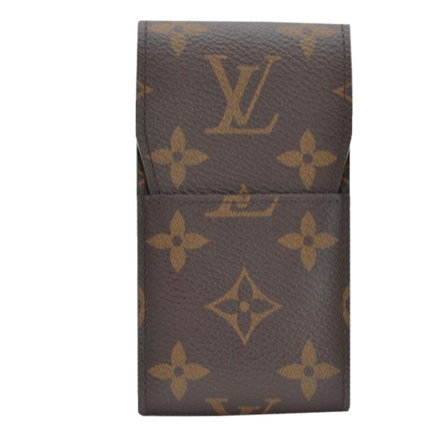 ルイヴィトン Louis Vuitton シガレットケース モノグラム エテュイシガレット モノグラムキャンバス たばこケース たばこ入れ レディース メンズ M63024 【中古】【定番人気】 - r7152