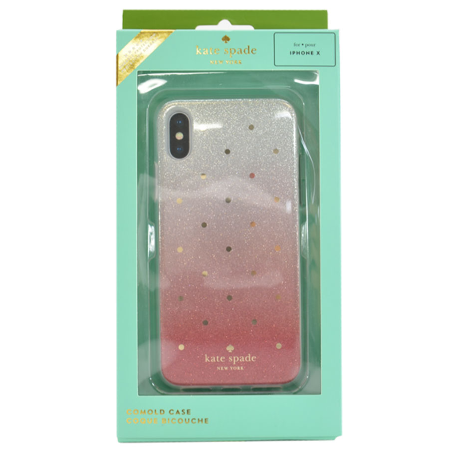 on sale bc15f fec6e Kate spade Kate Spade iphone X case silver x red plastic x silicon Lady's -  k9170