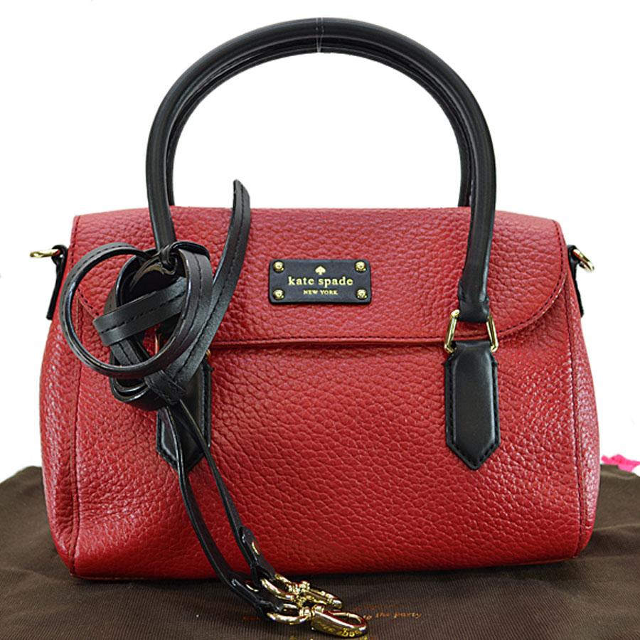 Brandvalue Take A Kate Spade Kate Spade Handbag Red X Black X Gold