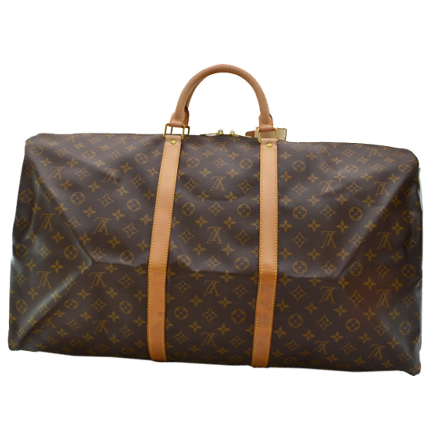 d12be2ce91dc Louis Vuitton  Louis Vuitton  monogram key Poll 60 Boston bag travel bag  handbag Lady s men brown monogram campus  used  constant seller popularity