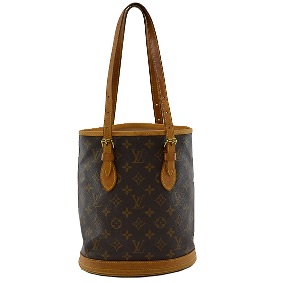 775fb5d10b6 BrandValue: Louis Vuitton Louis Vuitton shoulder bag monogram pail PM ◇  brown monogram canvas ◇ constant seller popularity ◇ Lady's - k7120 |  Rakuten ...