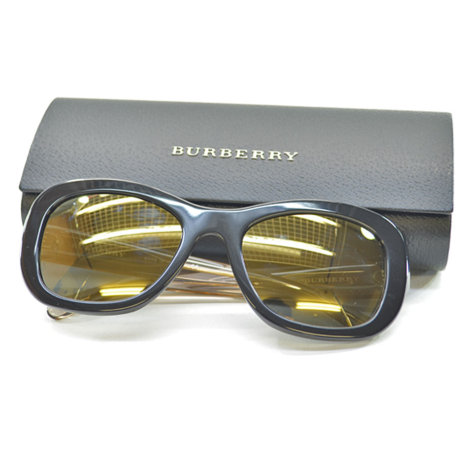755665f1dbb4 BrandValue: Burberry BURBERRY sunglasses 54 □ 20 135 ◇ lens: Black frame  & temple: ◇ Lady's men - k7888 whom there is black x clear x  gold-collar ...