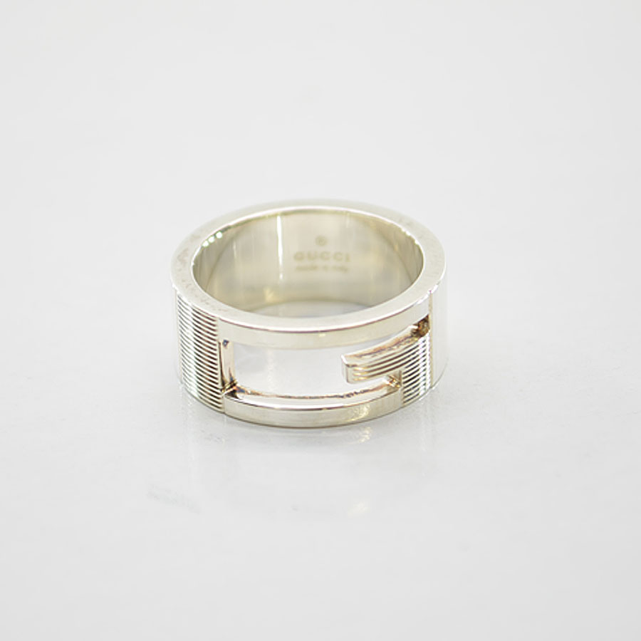 928e2e420 Gucci [GUCCI] ring ring Lady's men silver color SV925 [used] constant  seller popularity
