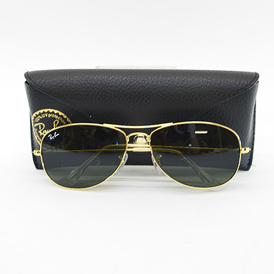 c910a21d70 ... discount code for ray ban ray ban sunglasses men gold metal material  used constant seller popularity