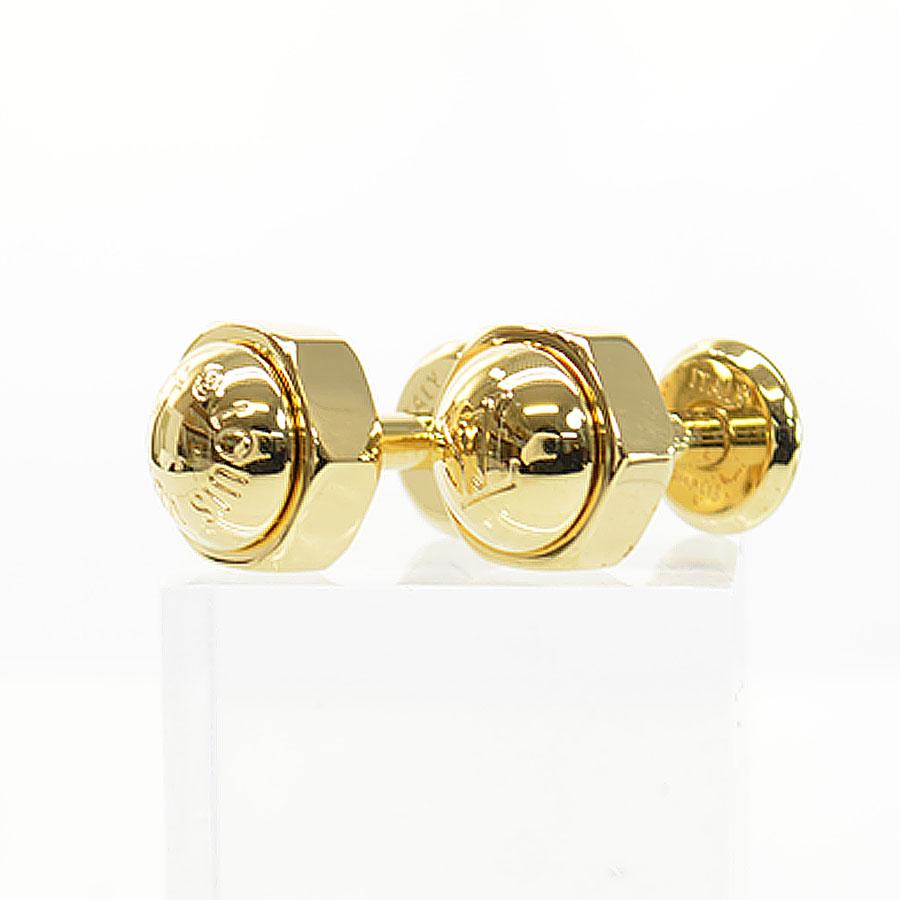 ルイヴィトン Louis Vuitton カフスボタン ゴールド 金属素材 メンズ 【中古】【定番人気】 - 51855