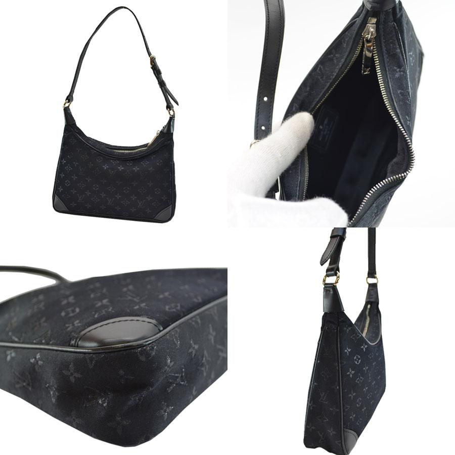 basic popularity   used  a Louis Vuitton  Louis Vuitton  monogram  サテンリトルブローニュミニショルダーバッグアクセサリーポーチレディースノワール (black) x ... 3dd43da92a028