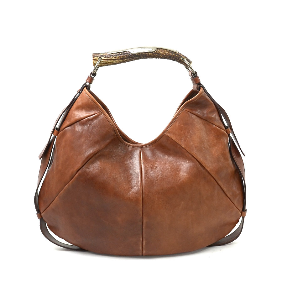 3bc9ab5958  basic popularity   used  Yves Saint-Laurent  Yves Saint Laurent  Mombasa  shoulder bag Lady s brown leather