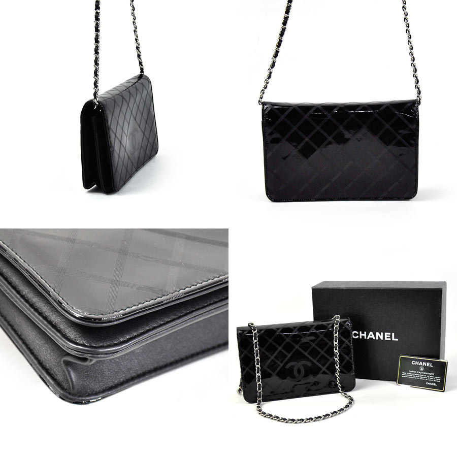 c210e0b7cca9 BrandValue: Chanel CHANEL shoulder bag chain shoulder wallet ...