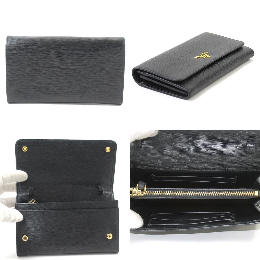 4a6700485b55 ... best price basic popularity used take prada prada slant shoulder bag  shoulder wallet ladys nero black