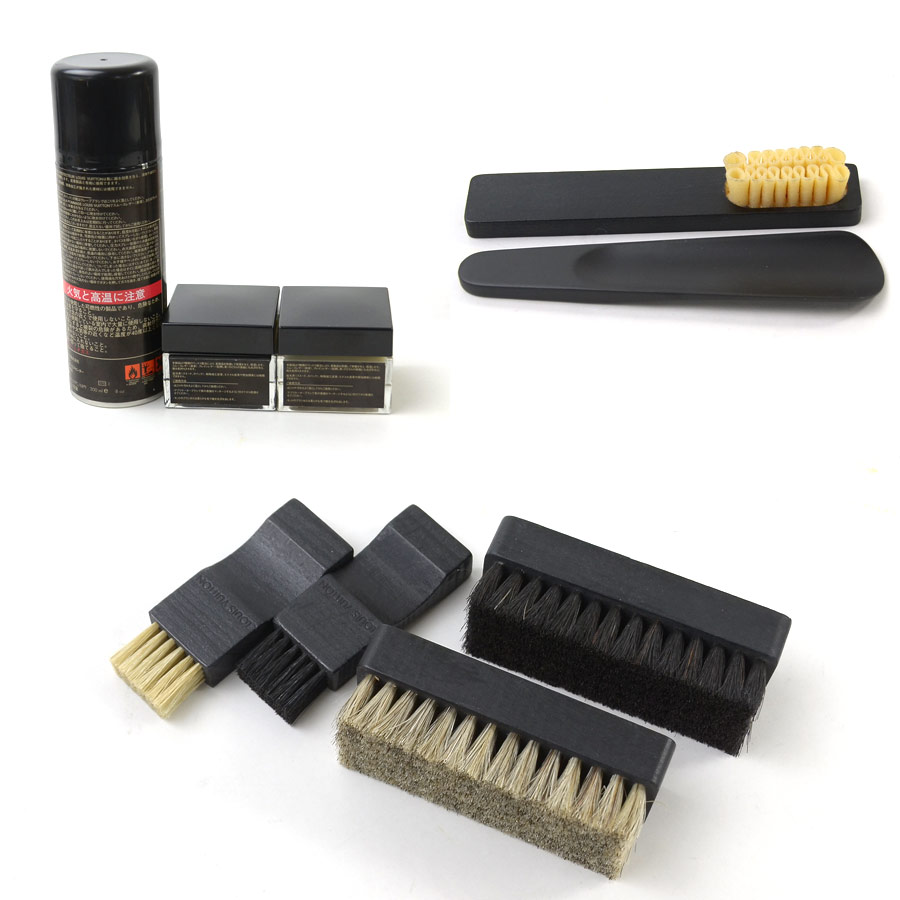 6a487b72e63e BrandValue  Louis Vuitton Louis Vuitton shoe polishing set monogram ...