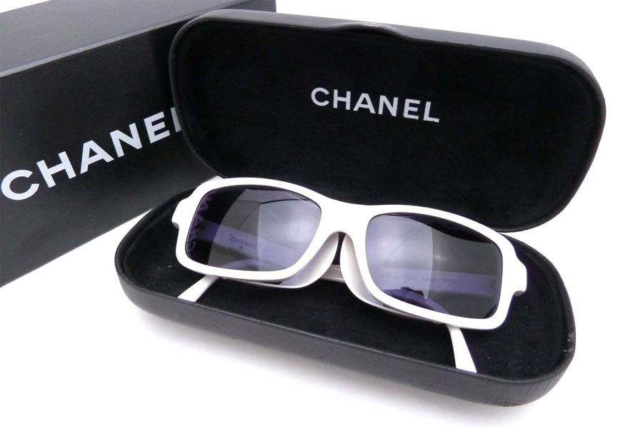 Chanel White Sunglasses  brandvalue rakuten global market chanel chanel sunglasses coco