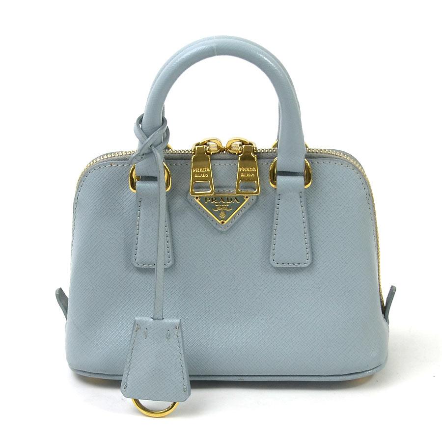 a814a086a4754 Prada Light Blue Handbag