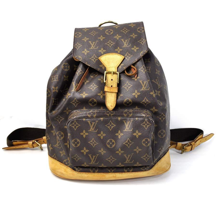 89b5a830ab76  basic popularity   used  a Louis Vuitton  Louis Vuitton  monogram mon  pickpocket GM rucksack backpack Lady s men monogram (brown system) monogram  canvas