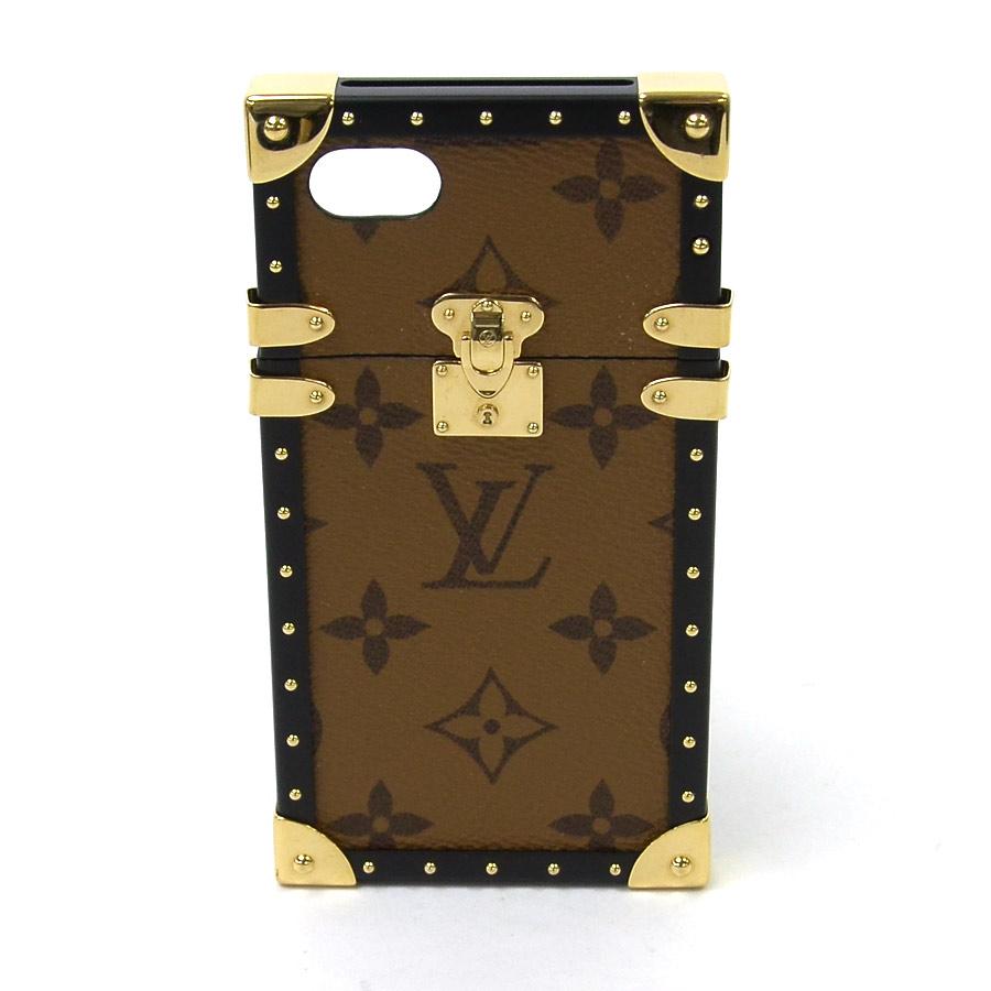 best service 14dc3 5f629 Louis Vuitton Louis Vuitton iphone case mobile case monogram reverse eye  trunk IPHONE 7 monogram brown x black x gold monogram canvas x metal  material ...