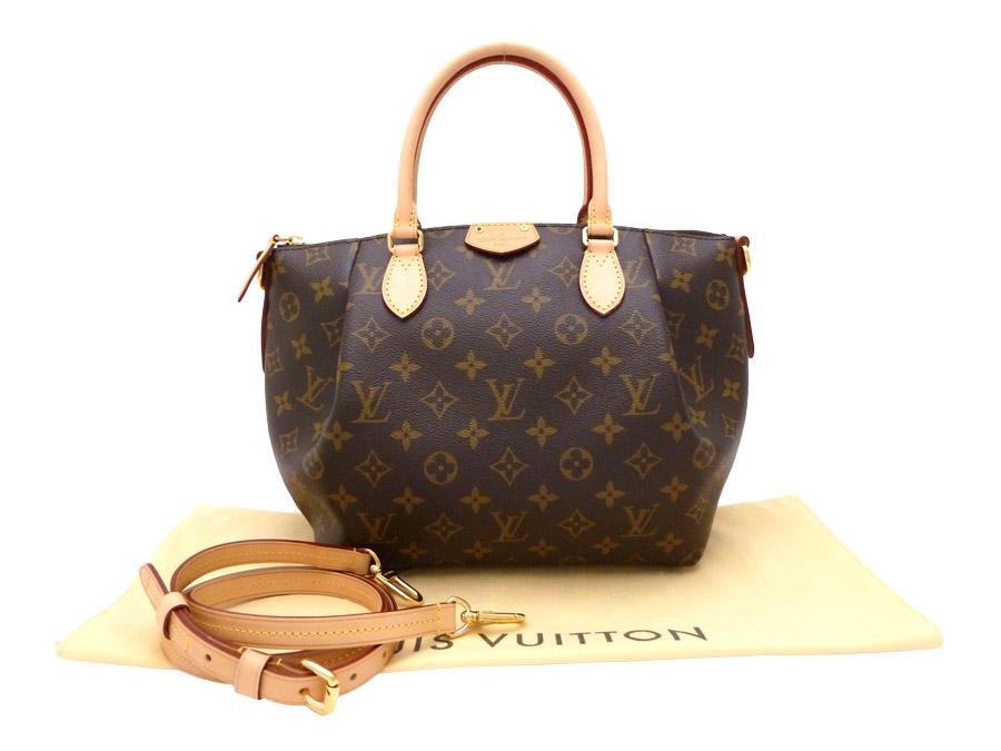 b6a7055e1fdf Louis Vuitton  Louis Vuitton  monogram Monogram チュレン PM Turenne PM テュレン  2Way bag handbag shoulder bag Lady s brown x gold metal fittings monogram  ...