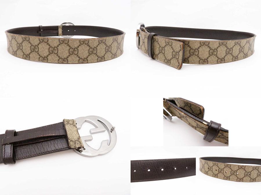 gucci belt. gucci gucci belt interlocking grip g gg plus ◇ beige weak powdered tea