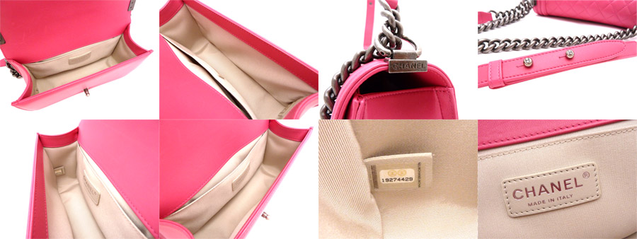 4230d66f3184c Chanel CHANEL bag here mark boy Chanel Le Boy Chanel ◇ shocking pink  lambskin leather Lambskin Leather ◇ basic popular super beautiful article  recommended ...