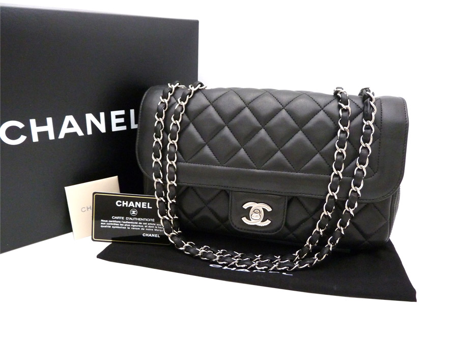 fbc109506692c8 BrandValue: Chanel CHANEL bag here mark CC Logo matelasse Matelasse ◇ Black  black black x silver metal fittings leather x metal material ◇ constant  seller ...