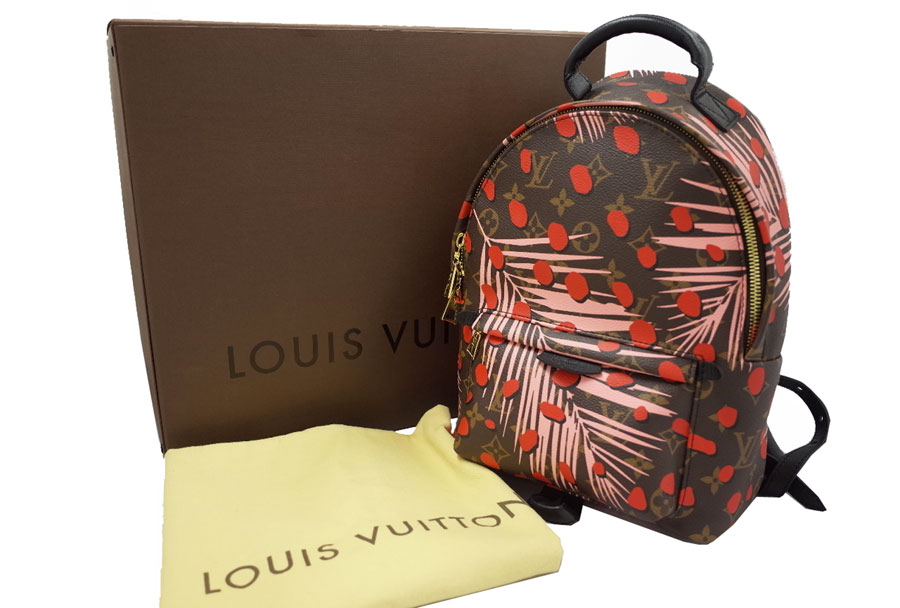 080cd41220bd Backpack Lady s M41981 - e26234 in the summer Cruise poppy backpack PM  brown x red x pink x black x gold metal fittings monogram canvas x  leather-free in ...