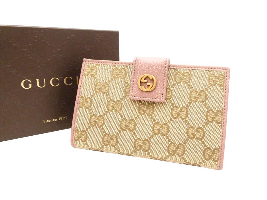 718d6afe2653 Gucci [Gucci] Miss GG Japan Exclusive Miss GG short wallet wallet folio  wallet L-shape fastener wallet Lady's beige x purple pink X gold metal  fittings ...
