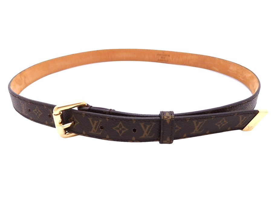 558b3e3d1bb9 Louis Vuitton Louis Vuitton belt monogram sun Tulle brown x gold monogram  canvas x metal material constant seller popularity waist belt thin belt  Lady s - ...