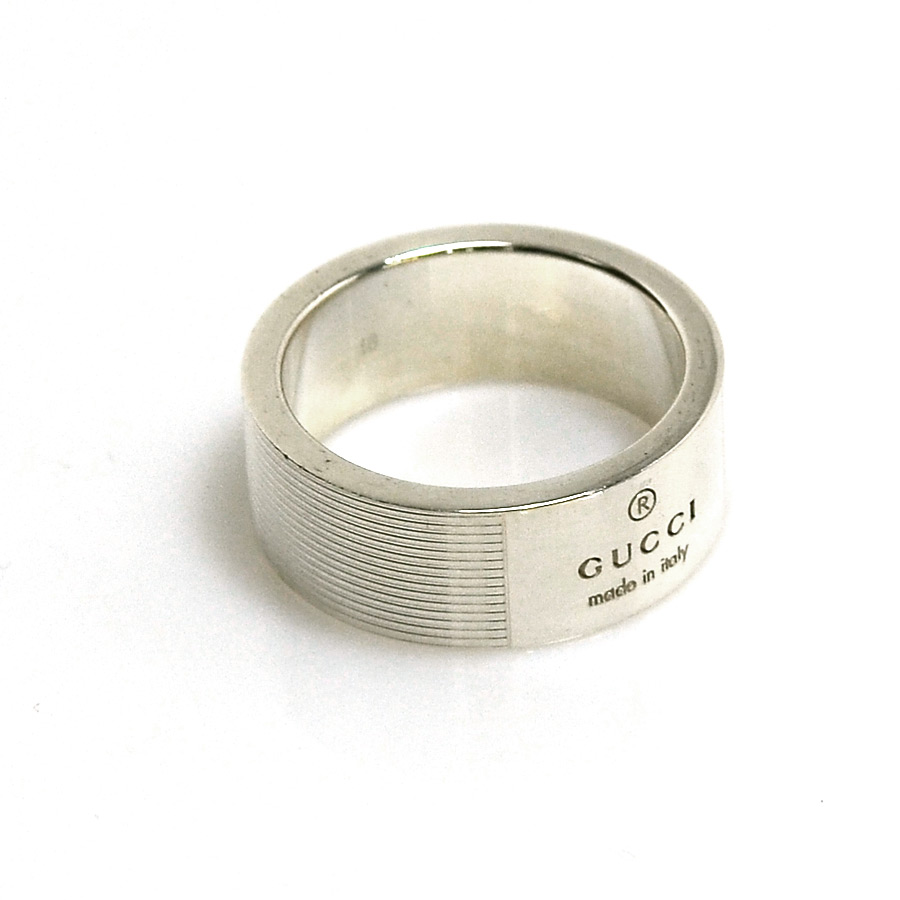 0c58df9a1 BrandValue: Gucci GUCCI ring ring silver silver 925 men's - y13171 |  Rakuten Global Market