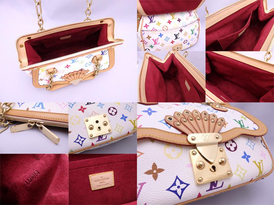a5ffb0cbd1a1 It is Louis Vuitton  Louis Vuitton  multicolored monogram Gracie MM bag  handbag shoulder bag Lady s Bronn x multicolored x gold metal fittings  monogram ...