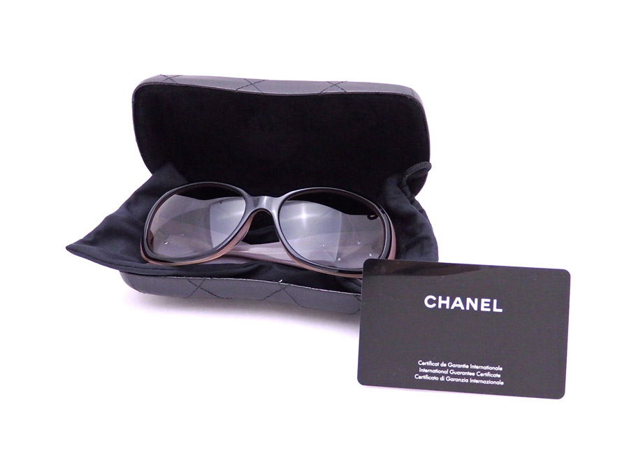 2bd6b740c8  basic popularity   used  Chanel  CHANEL  camellia sunglasses fashion glass  by colored glass Lady s black x pink plastic