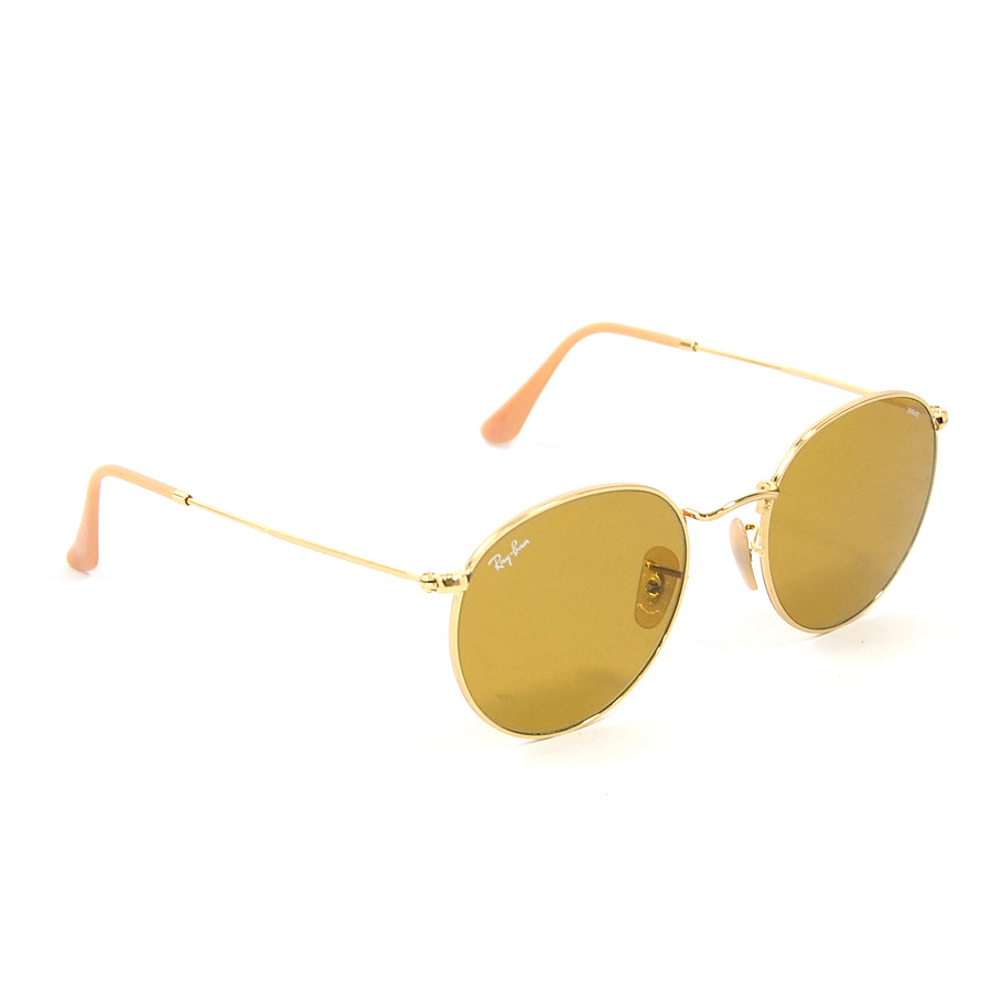 02bb53dd5 BrandValue: Ray-Ban Ray-Ban sunglasses lens: Frame & temple of Brown  line: Gold plastic x metal material Lady's men RB3447 - x2229 | Rakuten  Global ...