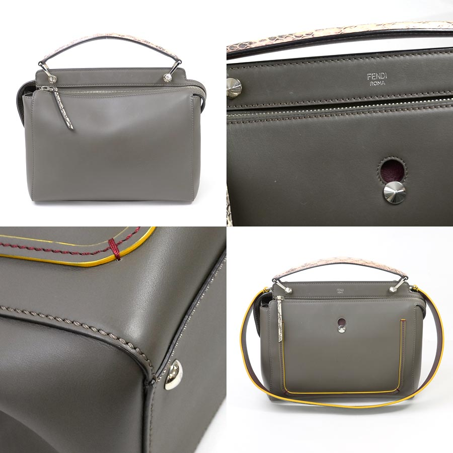 a34265c4d9 ... uk basic popularity used fendi fendi dot com handbag shoulder bag 2way  bag lady graige system