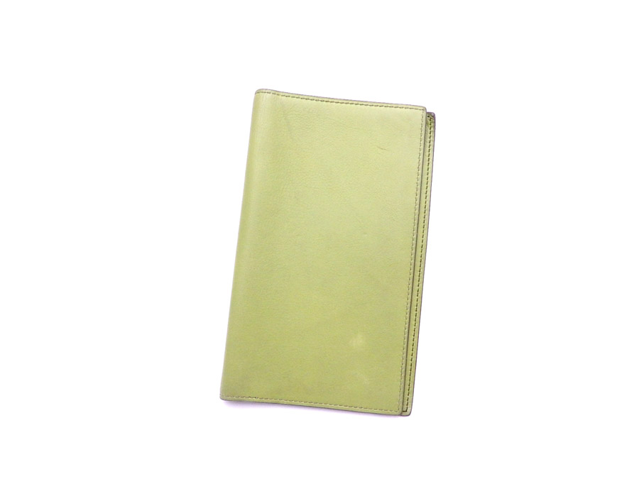 db304e80920 BrandValue: Hermes HERMES notebook cover one Ping Lean leather agenda cover  note cover Lady's men - e32382 | Rakuten Global Market