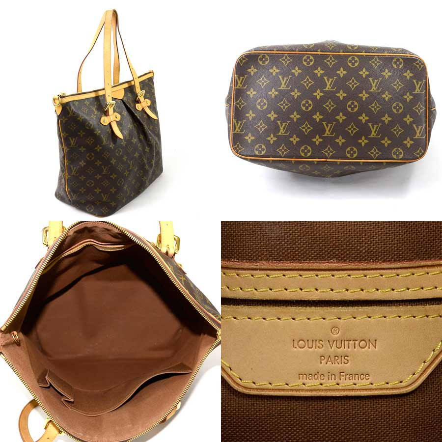 basic popularity   used  Louis Vuitton  Louis Vuitton  monogram Palermo GM  shoulder bag tote bag Lady s monogram (brown system) monogram canvas 4a05c087cb