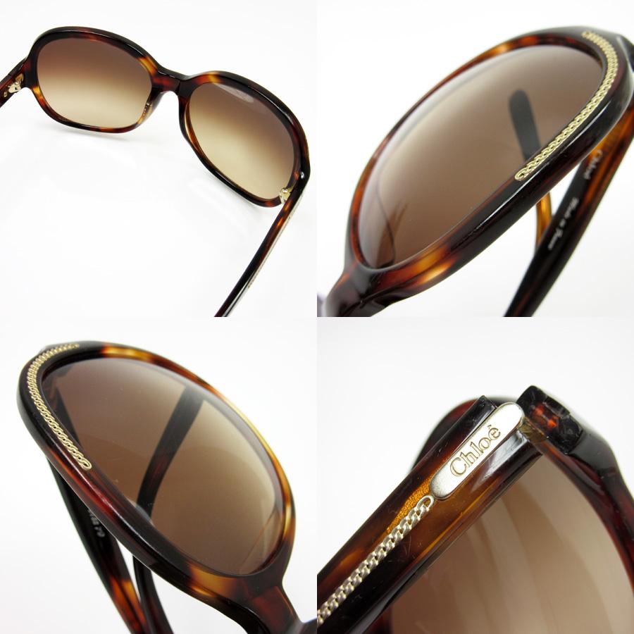 5a85e6b87a27 Kuroe Chloe sunglasses 60 □ 16 135 ◇ lens  Brown frame   temple  Brown x  yellow plastic x metal material ◇ constant seller popularity ◇ Lady s -  h12933